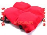 四联排绒布袋(不含艾盒)